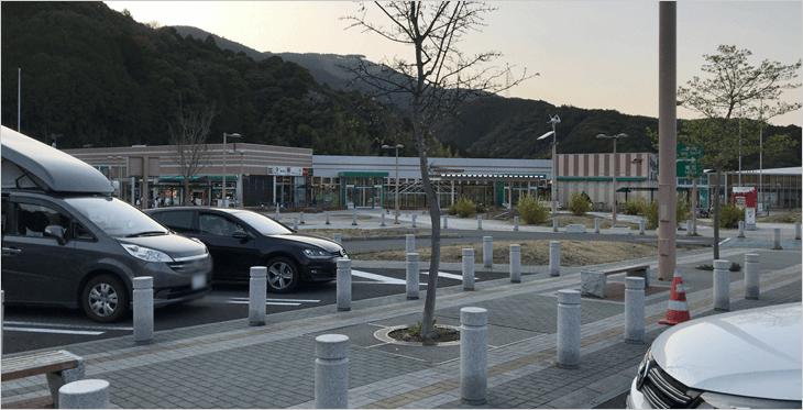 静岡SA駐車場から撮影