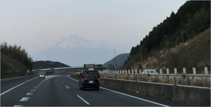 富士山も見れました